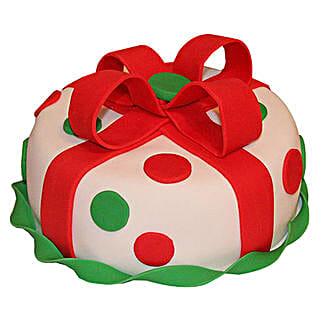 Fondant Christmas Cake: Christmas Gifts For Husband