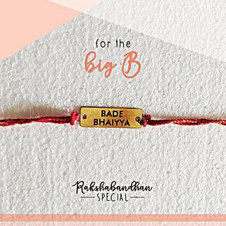 For Your Bade Bhaiya Quirky Rakhi & Card: Send Rakhi to Firozpur