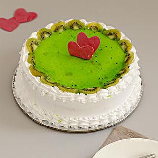 Fresh Kiwi Fruit Cake: Cake Delivery in Noida