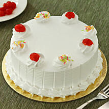 Fresh Vanilla Cake: Mothers Day Gifts Bhubaneshwar