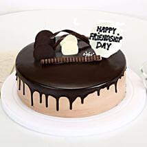 Friendship Day Chocolate Cake: Send Cakes to Tirupati