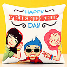 Friendship Day Funky Cushion: Friendship Day Gifts
