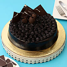 Fudge Brownie Cake: Designer Cakes to Jaipur