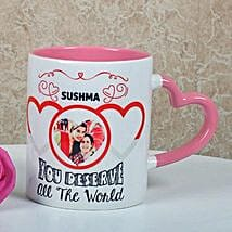 Full Of Love Personalized Mug: Customized Gifts for Her