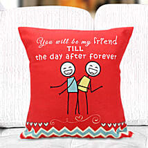 Fun cushion: Friendship Day Gifts to Gurgaon
