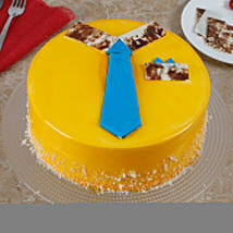 Funky And Delicious Mango Cake For Dad: Cakes for Father