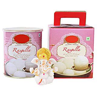 Ganesha Idol and Rasgullas: Handicraft Gifts to Bengaluru