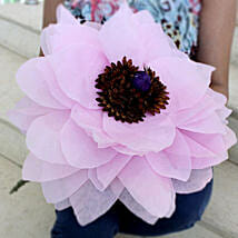Giant Paper Flower: Handicrafts to Pune