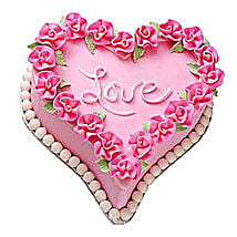 Gift A Heart Cake: Heart Shaped Cakes Lucknow