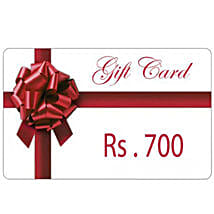 Gift Card 700: Send Wedding Gifts to Faizabad
