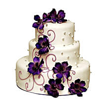 Glamorous Wedding Cake: Wedding Gifts to Mohali