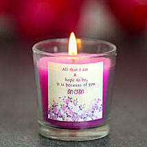 Glowing Love Candle: Send Candles