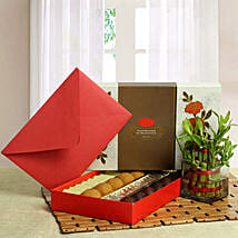 Good Luck with Assorted Sweets: Send Bhai Dooj Gift Hampers