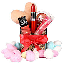 Gorgeous Girl Hamper: Cosmetics & Spa Hampers for Valentine