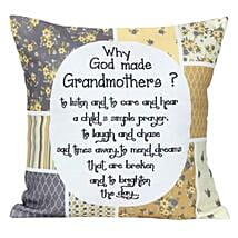 Grandmothers Cushion: Womens Day Gifts Gurgaon