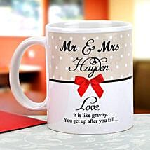 Gravity of love: Send Personalised Mugs for Husband