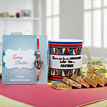 Great Brother Combo: Rakhi with Mugs