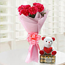 Great Gift: Send Flowers & Chocolates to Faridabad