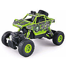 Green Rock Crawler: Kids Remote Control Toys
