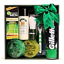 Grooming Kit For Him: Valentine Cosmetics & Spa Hampers
