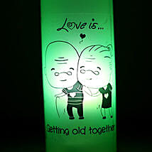 Growing Old Together Lamp: Send Home Decor to Lucknow
