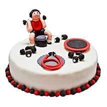 Gym Fondant Cake: Cake Delivery in Kalyan
