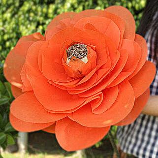 Handmade Floral Beauty: Handicrafts for Diwali