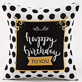 Happy Birthday Cushion: Birthday Gift for Daughter