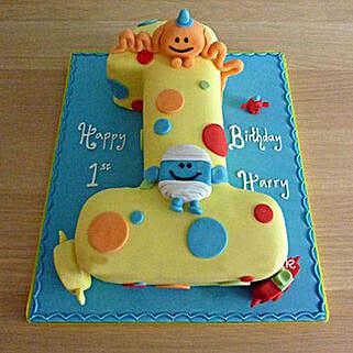 Happy Birthday Toddler Cake: Birthday Cakes for Kids