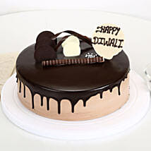 Happy Diwali Chocolate Cake: Diwali Gifts for Girls/ GF