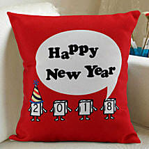 Happy New Year Cushion: New Year Gifts for Family