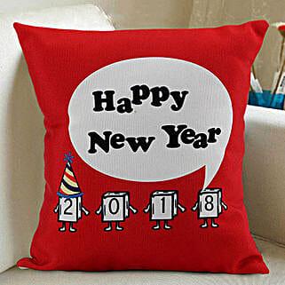 Happy New Year Cushion: