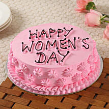 Happy Women's Day Cake: Womens Day Gifts for Daughter