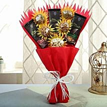 Healthy Bouquet Of Love: Anniversary Chocolate Bouquets