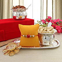 Healthy Rakhi Gift: Send Rakhi to Gudivada