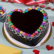 Heart Shaped Chocolate Cake: Heart Shaped Cakes for Birthday