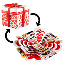 Hearty Memories Explosion Box: Explosion Gift Box