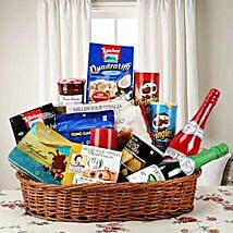 Hearty Sweet and Savory Basket: Send Gift Hampers to Hyderabad