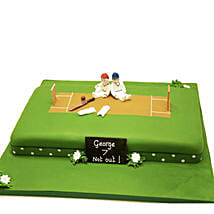 Heavenly Delights Cricket Cake: Birthday Cakes for Friend