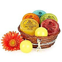 Heavenly Relaxing Soap Hamper: Send Gift Hampers