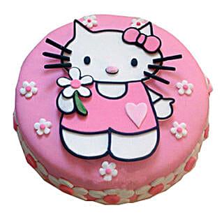 Hello Kitty Birthday Cake: Cake Delivery in Goa