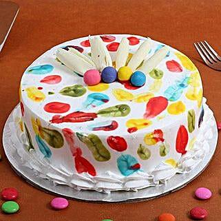 Holi Special Pineapple Cake: Cakes to Kuttipuram