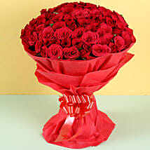 Hot Red: Roses for Boyfriend