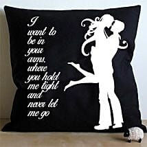 Hug Me Cushion: Anniversary Gifts to Hyderabad