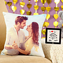 I Love You This Much Cushion Table Top Combo: Valentine Gifts for Boyfriend