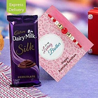 Joyful Pack Of Chocolate And Rakhi: Rakhi Gifts to Patna