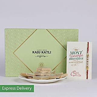 Kaju Katli Hamper N Rakhi: Rakhi With Sweets Panvel
