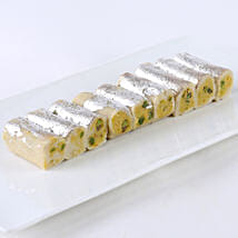 Kaju Roll Delight: Christmas Sweets