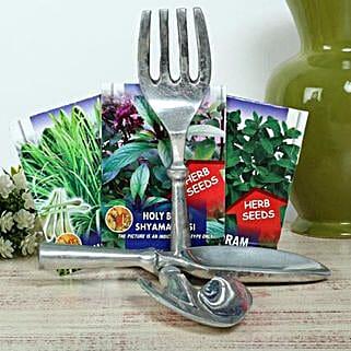 King Of Garden Hamper: Send Organic Seeds