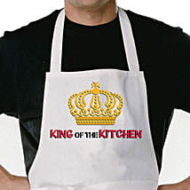 King Of The Kitchen Apron: Send Gifts to Neemuch